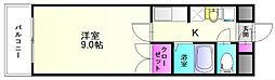 レジデンス大土居[3階]の間取り