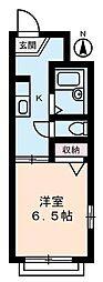 藤ハイツ[0101号室]の間取り