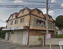 埼玉県川口市木曽呂の賃貸アパートの外観