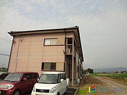 サーブMADA A棟[1階]の外観