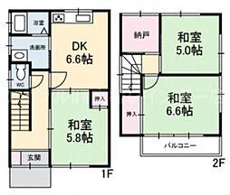 [一戸建] 香川県高松市多肥上町 の賃貸【/】の間取り