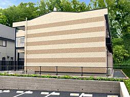 千葉県鎌ケ谷市道野辺の賃貸アパートの外観