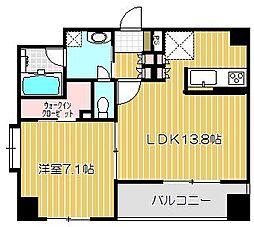 東京都大田区中馬込2丁目の賃貸マンションの間取り