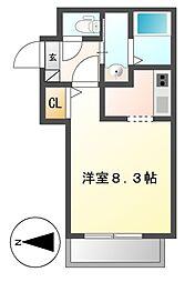Cherim岩塚[2階]の間取り