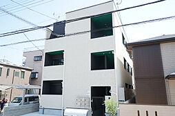 大阪府大阪市東淀川区瑞光5丁目の賃貸アパートの外観