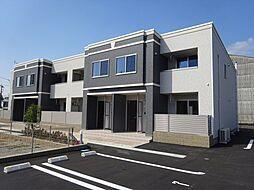 広島県東広島市西条町西条東の賃貸アパートの外観