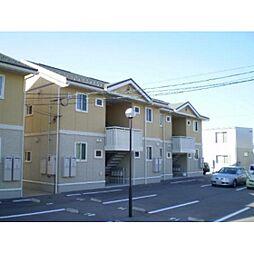富山県富山市常盤台の賃貸アパートの外観