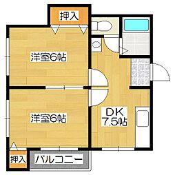 近畿ビル[2階]の間取り