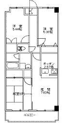 サイレントドミール[3階]の間取り