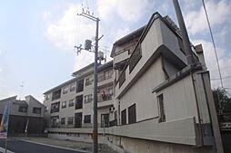 大阪府吹田市千里丘上の賃貸マンションの外観