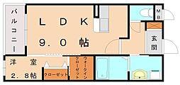 ロイヤルハウス自由ヶ丘[3階]の間取り