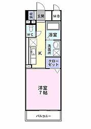 プレ・アビタシオン春日部I[0501号室]の間取り