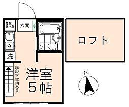 ラ・フォーレ高幡[1階]の間取り