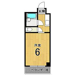 伏見上野ハイツ[310号室]の間取り