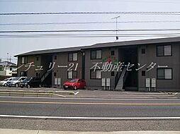 岡山県岡山市北区吉備津の賃貸アパートの外観