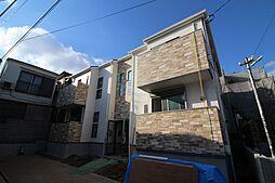 兵庫県神戸市灘区畑原通5丁目の賃貸アパートの外観