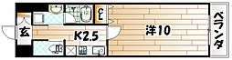 リード室町[11階]の間取り