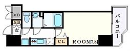 JR東海道・山陽本線 神戸駅 徒歩4分の賃貸マンション 3階1Kの間取り