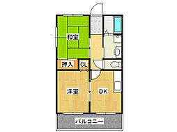 エミネンスイケダ[7階]の間取り