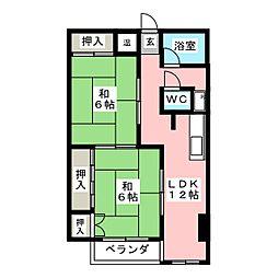 メゾン福島[6階]の間取り