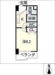 U・TOPIA75[9階]の間取り