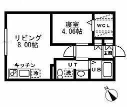 プライムアーバン洗足[2階]の間取り
