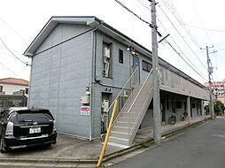 千葉県佐倉市井野の賃貸アパートの外観