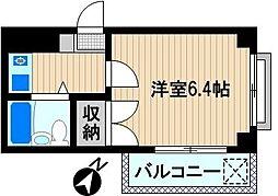 エフイーマンション[3階]の間取り