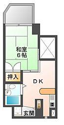 CASA NOAH 名古屋3[6階]の間取り