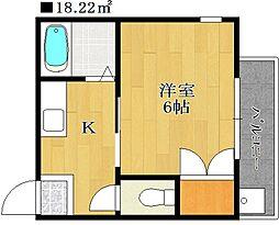 スクエアハウス[3階]の間取り