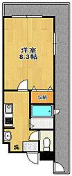 CHAYATOWN21[505号室]の間取り