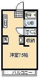 鈴木グリーンハイツB棟[103号室]の間取り