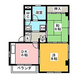森島ビル[3階]の間取り
