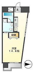 レジディア東桜II[6階]の間取り
