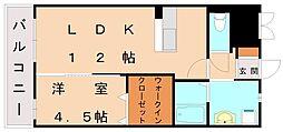 パシオンクレシア[3階]の間取り
