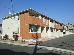 滋賀県大津市大江6丁目の賃貸アパートの外観
