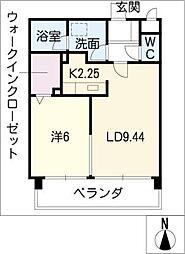 La FELMO 菊坂[7階]の間取り