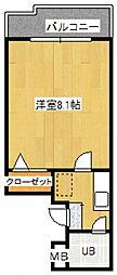 Rinon脇浜[3階]の間取り