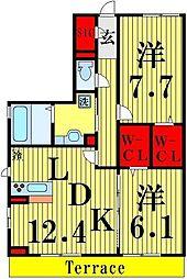 RSAIII[1階]の間取り