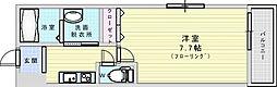 Osaka Metro今里筋線 瑞光四丁目駅 徒歩6分の賃貸アパート 2階1Kの間取り