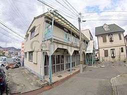 兵庫県川西市栄根1丁目の賃貸アパートの外観