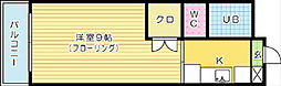 クレッシェンド初音[102号室]の間取り