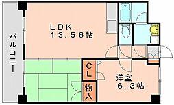 コージーコートハカタ[5階]の間取り