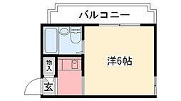 ロイヤルメゾン甲子園七番町[303号室]の間取り