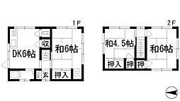 [一戸建] 兵庫県宝塚市旭町2丁目 の賃貸【/】の間取り