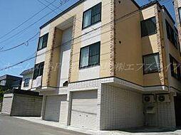北海道札幌市東区伏古十条2丁目の賃貸アパートの外観