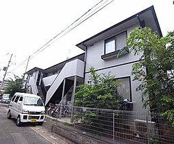 京都府京都市伏見区醍醐御霊ヶ下町の賃貸アパートの外観