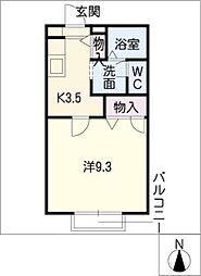 ソフィアコート西沢[2階]の間取り