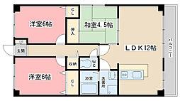 こすもす館[5-B号室]の間取り