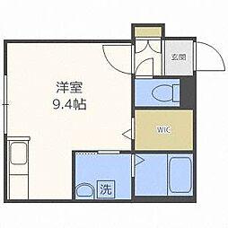YUGO'S中島[5階]の間取り